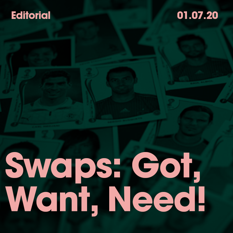 Swaps: Got, Want, Need